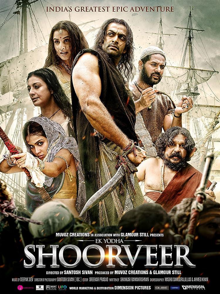 Ek Yodha Shoorveer (Urumi) 2019 Hindi Dubbed Movie Download HDRip 720p ESubs   G-Drive Link   Watch Online