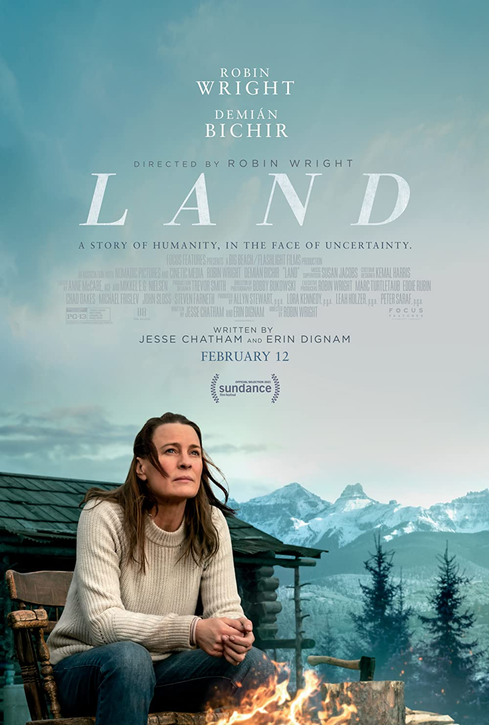Land 2021 English 720p HDRip 800MB | 295MB Download