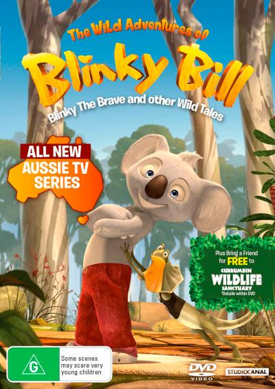 Pašėlę Blinkio Bilo nuotykiai (1 sezonas) / The Wild Adventures of Blinky Bill