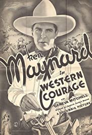 Western Courage Poster