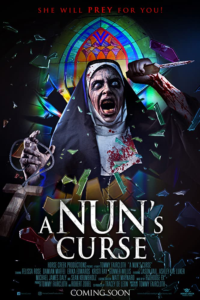 A Nun's Curse 2020 Hindi Subtitles 720p HDRip [in English] Full Movie Download
