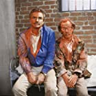 Burt Reynolds and Michael Jeter in Evening Shade (1990)