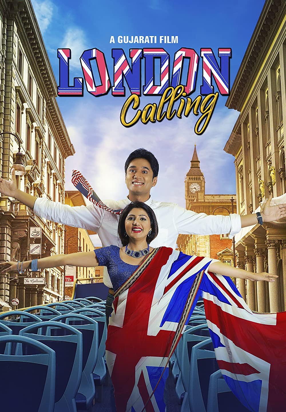 London Calling 2020 Gujrati 720p HDRip ESubs 850MB Download