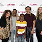 Joshua Abston, Rachel Myers, Giovanni Adams, Tonatiuh, and Amanda Knehans in 2 Black Boys (2019)