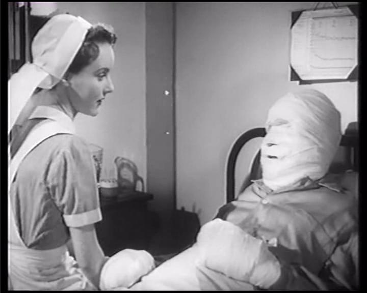Petula Clark and Bernard Lee in White Corridors (1951)