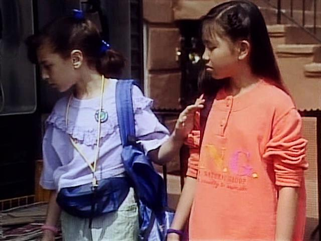 Mayteana Morales and Tram-Anh Tran in Ghostwriter (1992)
