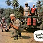 Horst Frank, Dorothee Parker, Brad Harris, and Chris Howland in Die Diamantenhölle am Mekong (1964)