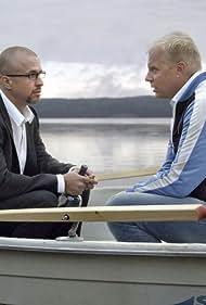 Ville Myllyrinne and Kristo Salminen in Kansan mies (2013)