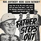 Frank Albertson, Frank Faylen, Lorna Gray, Charlie Hall, and Jed Prouty in Father Steps Out (1941)