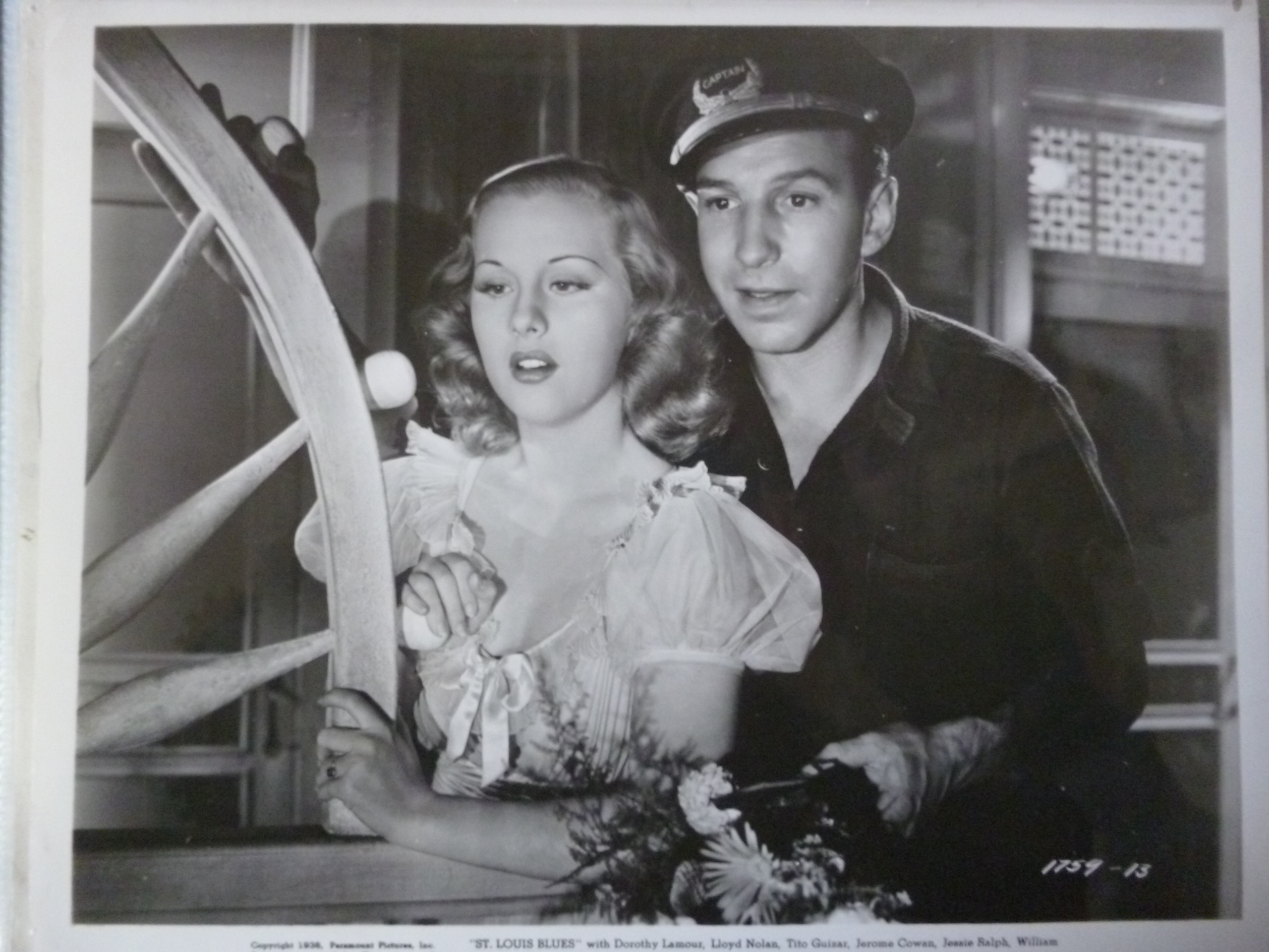Lloyd Nolan and Mary Parker in St. Louis Blues (1939)