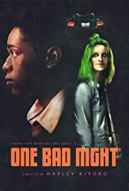 Hayley Kiyoko: One Bad Night Poster