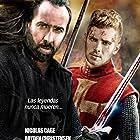 Nicolas Cage and Hayden Christensen in Outcast (2014)
