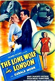 The Lone Wolf in London Poster