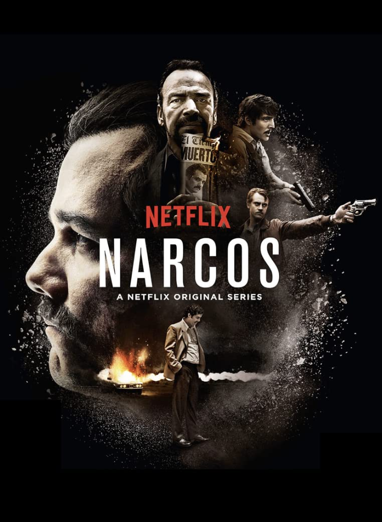 Narcos (2016) Season 2 Hindi Dubbed (Netflix)