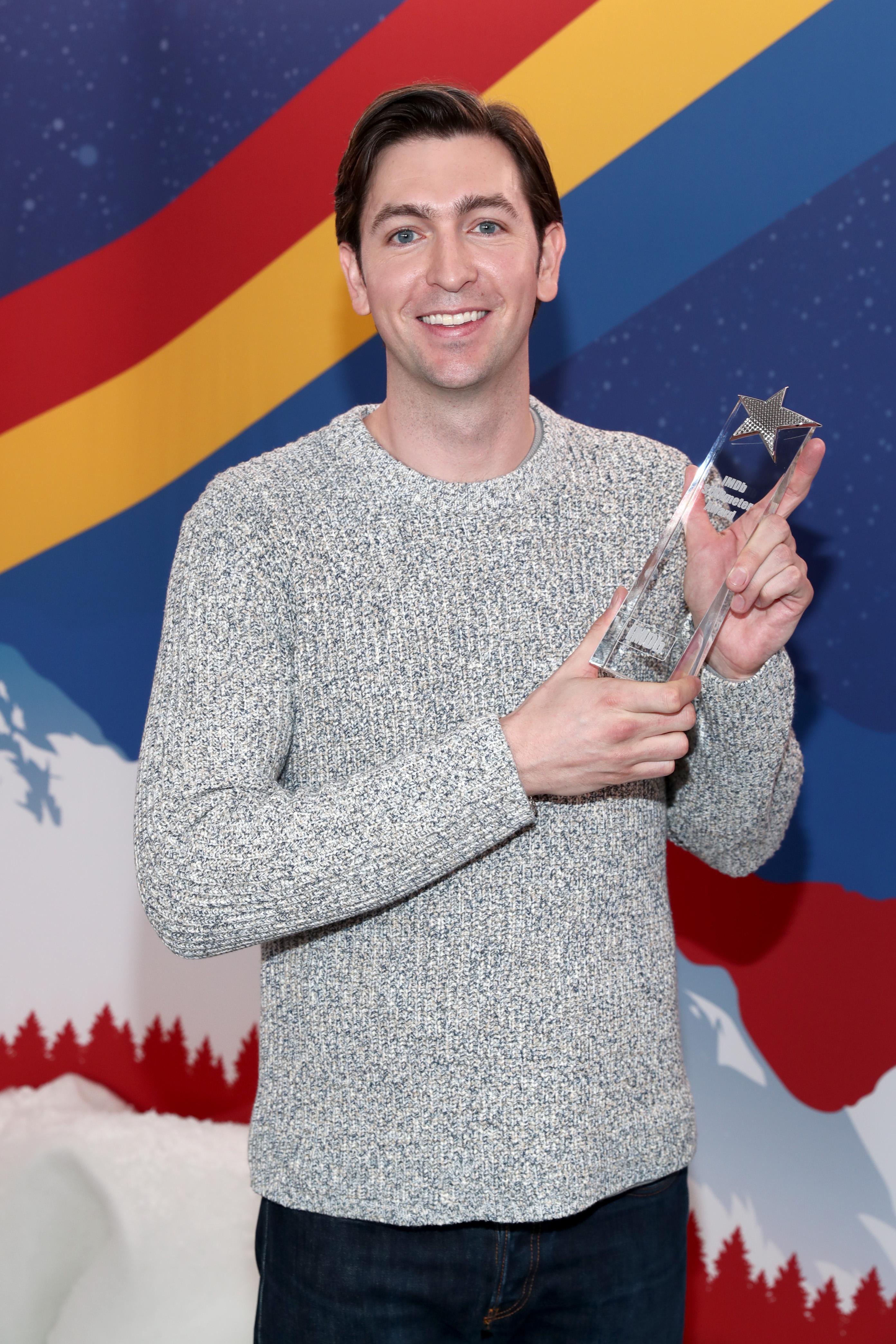 Nicholas Braun at an event for The IMDb Studio at Acura Festival Village (2020)