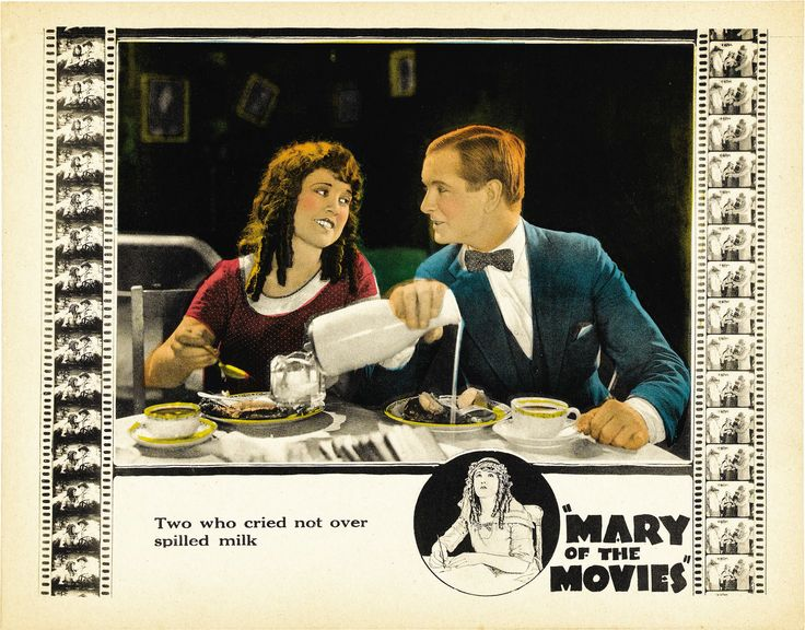 Creighton Hale and Marion Mack in Mary of the Movies (1923)