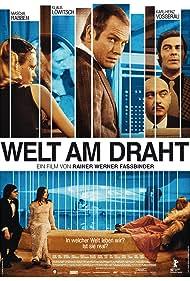 Klaus Löwitsch, Mascha Rabben, and Karl Heinz Vosgerau in Welt am Draht (1973)