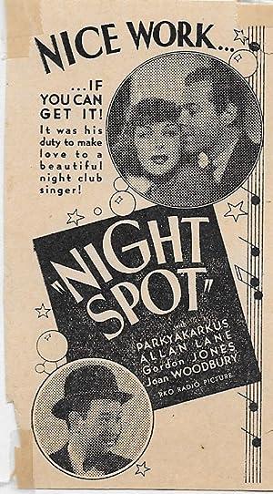 Christy Cabanne Night Spot Movie