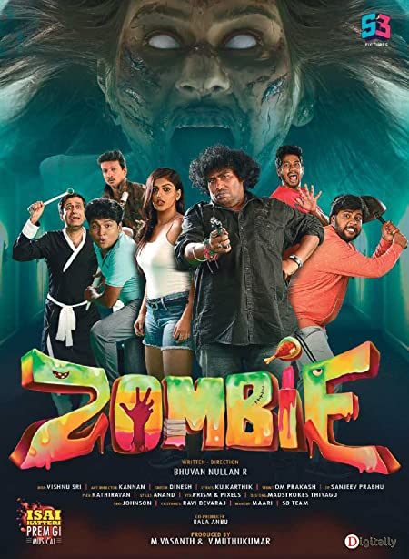 Zombie (2019) Tamil WEB-DL - 480P   720P - x264 - 400MB   850MB - Download & Watch Online With English Subtitle Movie Poster - mlsbd