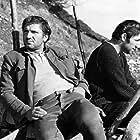 Mija Aleksic and Velimir 'Bata' Zivojinovic in Covek iz hrastove sume (1964)