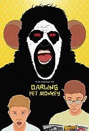 Darling Pet Monkey Poster