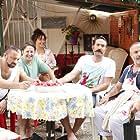 Sevket Çoruh, Murat Akkoyunlu, Ilker Ayrik, Didem Balçin, and Timur Acar in Çakallarla Dans 4 (2016)