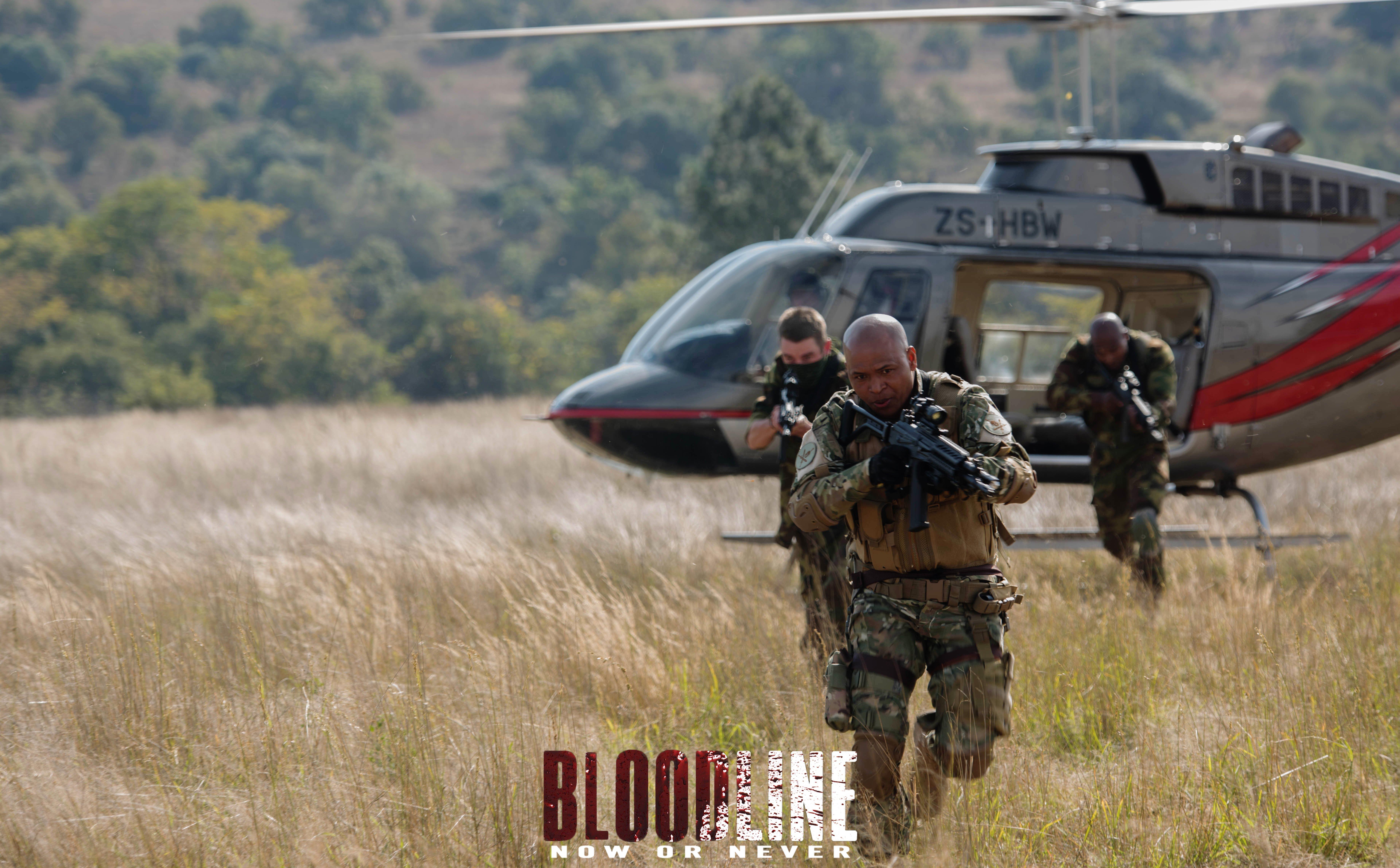 Tariku Bogale in Bloodline: Now or Never (2017)