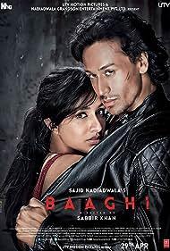 Shraddha Kapoor and Tiger Shroff in Baaghi (2016)
