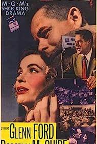 Glenn Ford, Katy Jurado, Arthur Kennedy, and Dorothy McGuire in Trial (1955)