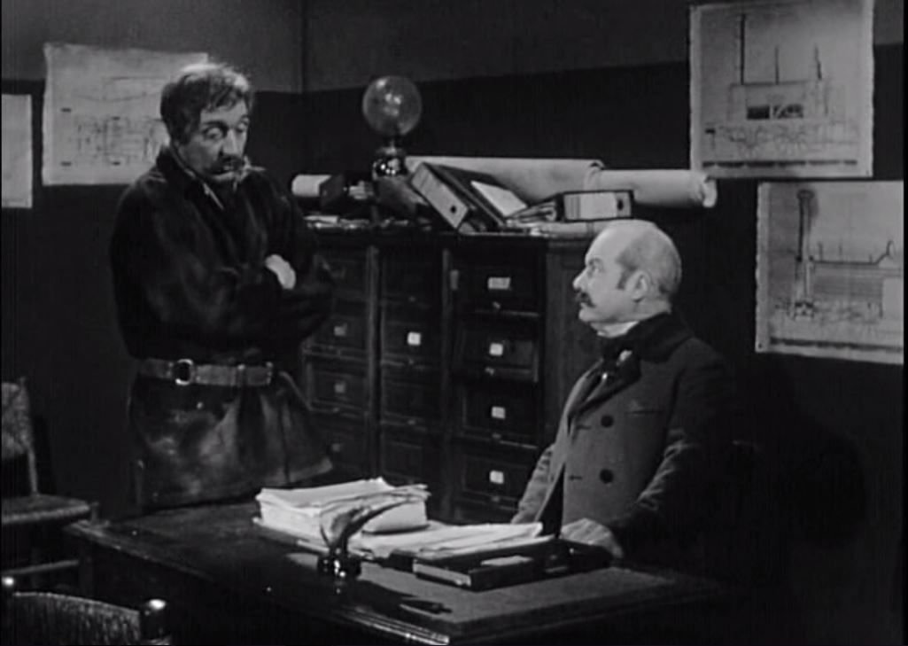 Yves Brainville and André Valmy in La princesse du rail (1967)
