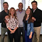 Roma Downey, Damien Leake, Ted McGinley, Tony Mitchell, and Reilly Anspaugh in The Baxters (2019)
