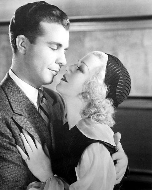 Ginger Rogers and Dick Powell in Twenty Million Sweethearts (1934)