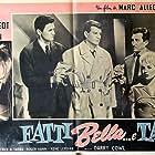 Mylène Demongeot, Roger Hanin, and Henri Vidal in Sois belle et tais-toi (1958)