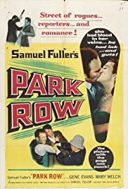 Park Row (1952) Poster - Movie Forum, Cast, Reviews