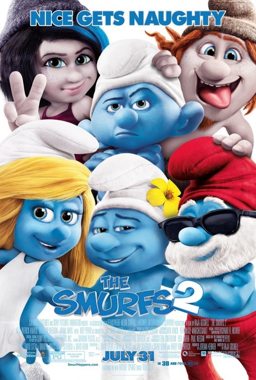 The Smurfs 2 (2013) Dual Audio Hindi 480p