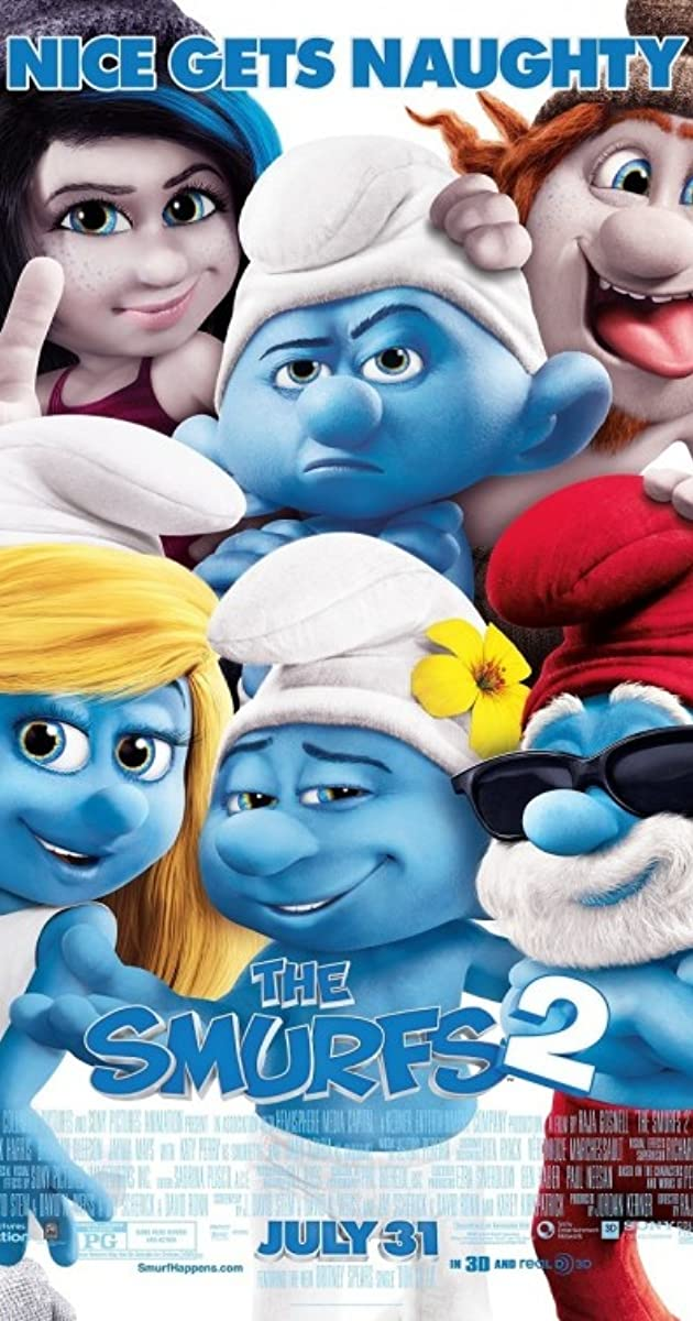 Subtitle of The Smurfs 2
