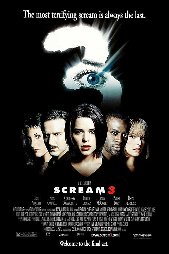 Scream 3 (2000) Hindi Dual Audio 450MB BluRay Download
