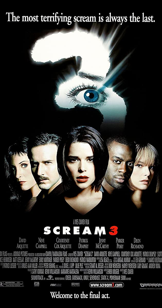 Subtitle of Scream 3