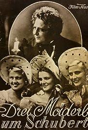 Three Girls Around Schubert Poster