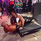 Paul Levesque and Joe Anoa'i in WrestleMania 32 (2016)