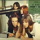 Jane Birkin, Emma Cohen, Bernadette Lafont, and Elisabeth Wiener in Trop jolies pour être honnêtes (1972)