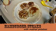 Hamburger Steak w/ Mashed Potatoes