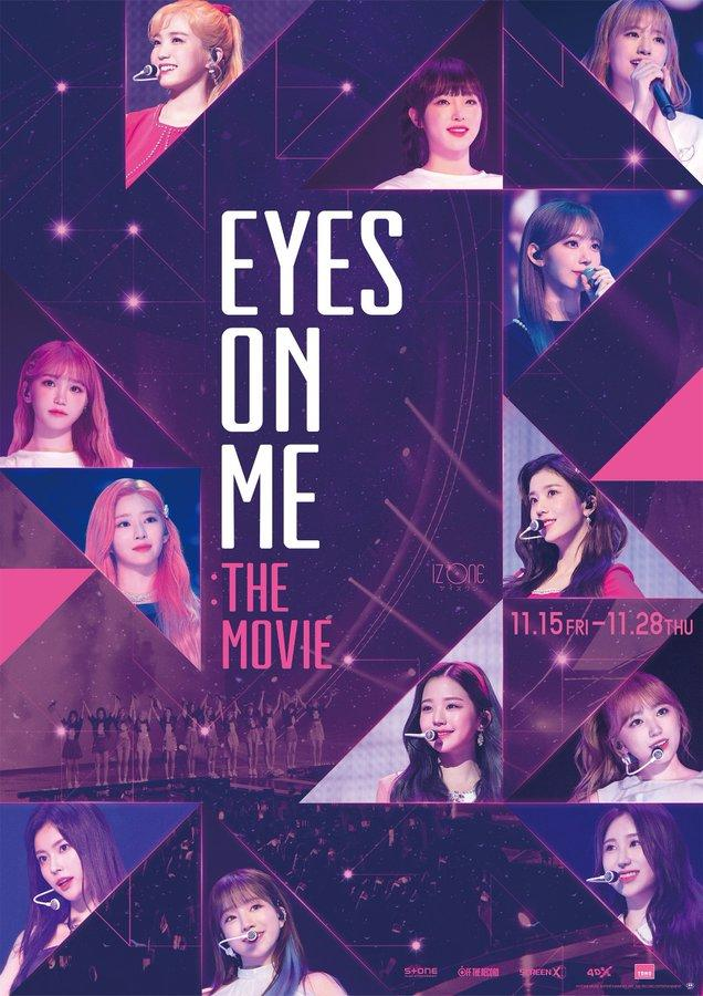 دانلود زیرنویس فارسی فیلم Eyes on Me: The Movie