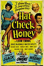Hat Check Honey Poster