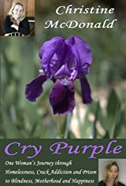 Cry Purple Poster