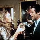 Marcello Mastroianni and Ursula Andress in Doppio delitto (1977)