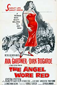 Vittorio De Sica, Ava Gardner, Dirk Bogarde, and Finlay Currie in The Angel Wore Red (1960)