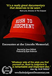 Rush to Judgment: Encounter at the Lincoln Memorial Poster