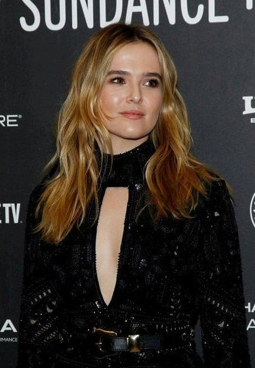 Zoey Deutch at an event for Rebel in the Rye (2017)