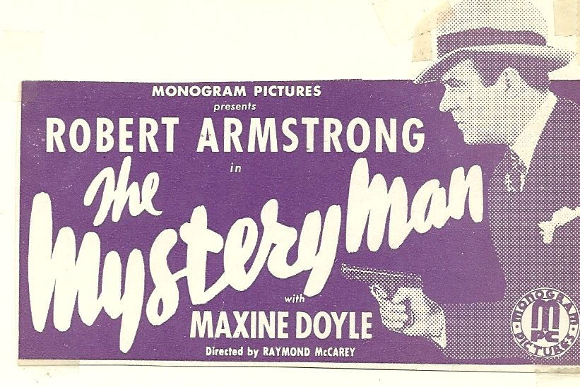 Robert Armstrong in The Mystery Man (1935)